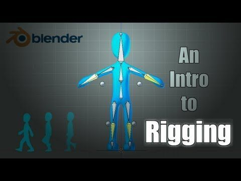 ▶ Blender Tutorial: Basics of Character Rigging - YouTube