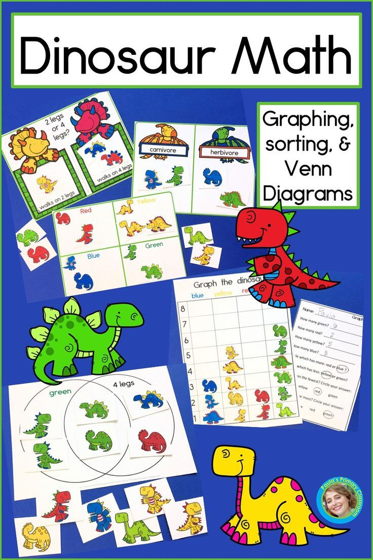 Kids Love Dinosaurs You Ll Love How These Dinosaur Math Centers Stations Engage Preschool Kindergarten And Fir Kindergarten Math Activities Math Graphing [ 1104 x 736 Pixel ]