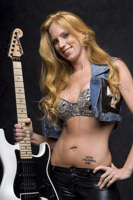 Nita Strauss Instagram Buscar Con Google Heavy Metal