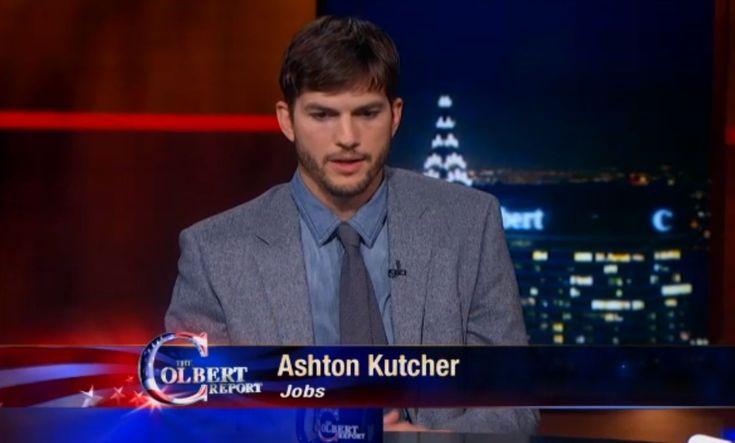 Ashton Kutcher il compara pe Steve Jobs cu un antrenor de fotbal american (Video)