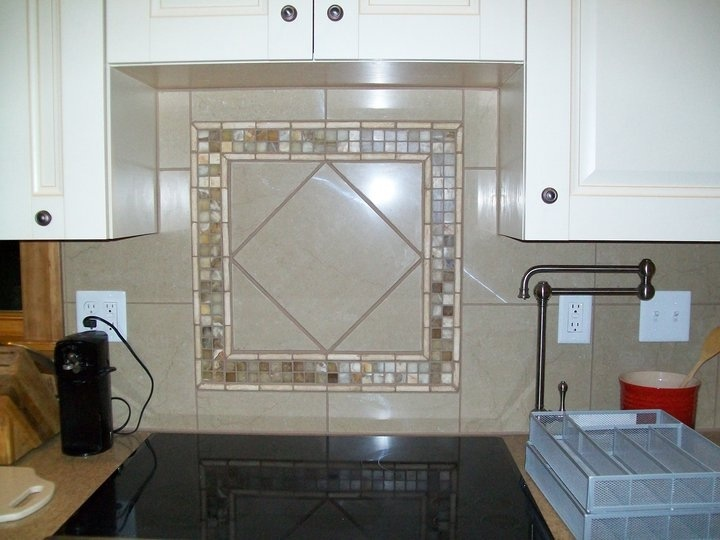 Backsplash Idea... Behind Stove