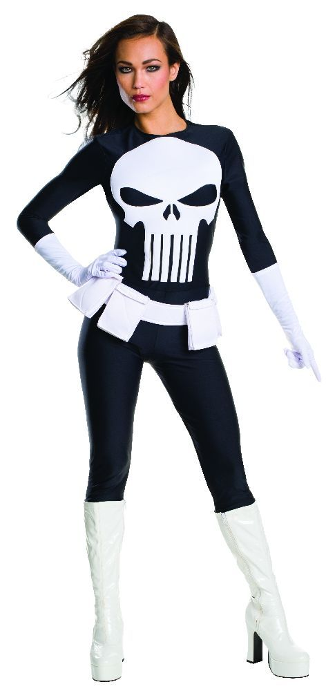 Female Punisher Costume