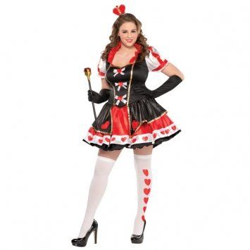 Charmed Queen Halloween Costume, Plus Size