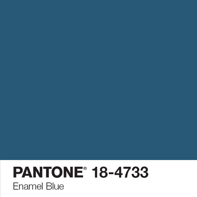 Peinture murs et boiseries Enamel Blue 1L - CASTORAMA