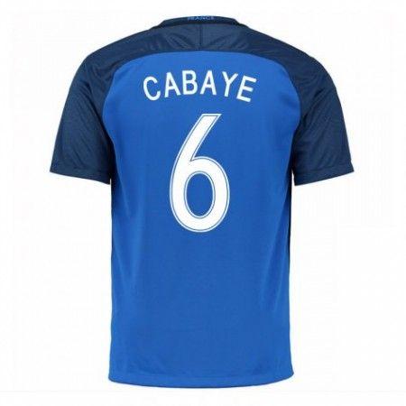 Frankrike 2016 Yohan Cabaye 6 Hjemmedrakt Kortermet.  http://www.fotballteam.com/frankrike-2016-yohan-cabaye-6-hjemmedrakt-kortermet.  #fotballdrakter