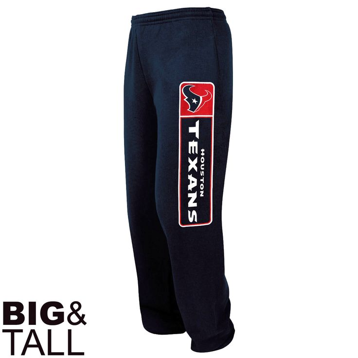 Houston Texans Critical Victory VII Fleece Big & Tall Pants - Navy Blue - $34.19