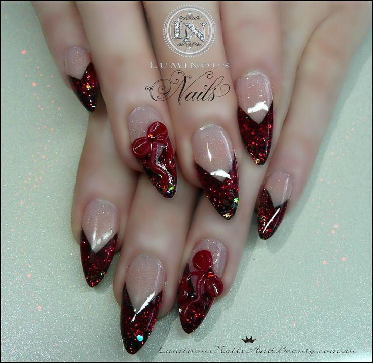 stiletto nails | Luminous+Nails+&+Beauty,+Gold+Coast+Queensland.+Acrylic+&+Gel+Nails+ ...