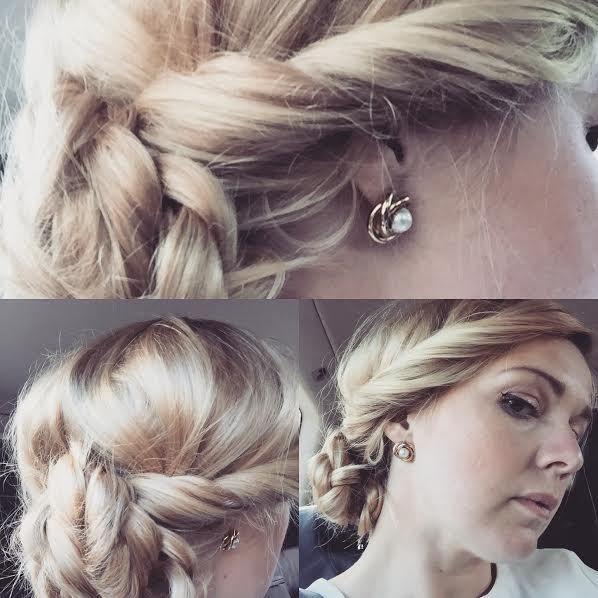 fin på håret, hårblogg, blogg, flette, bryllup, romantisk, hår, frisyre