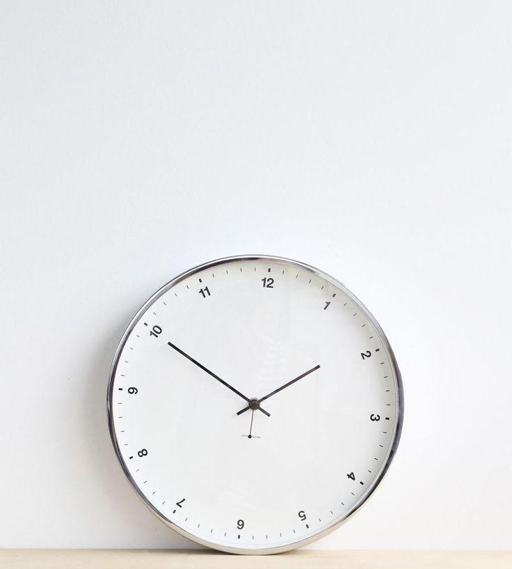 Johnsson-wall-clock-small-white $129