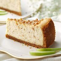 Almond Brickle Cheesecake