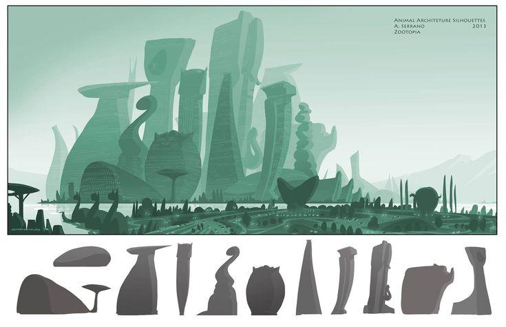 Desenvolvimento Visual de Zootopia, por Armand Serrano   THECAB - The Concept Art Blog