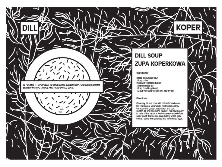 Polish dill soup recipe by BARBORA TŐGEL
