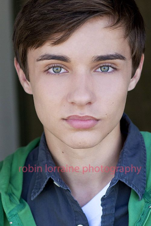 Young Teen Actor Headshots. Such Amazing Eyes And Strength