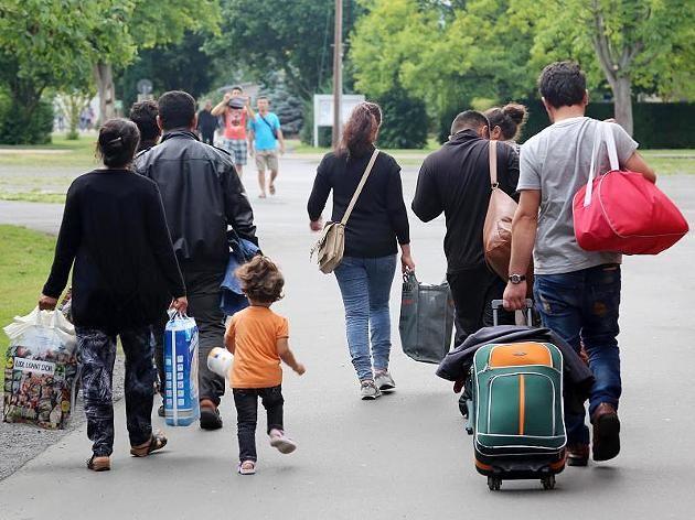 Flüchtlinge (Symbolbild)