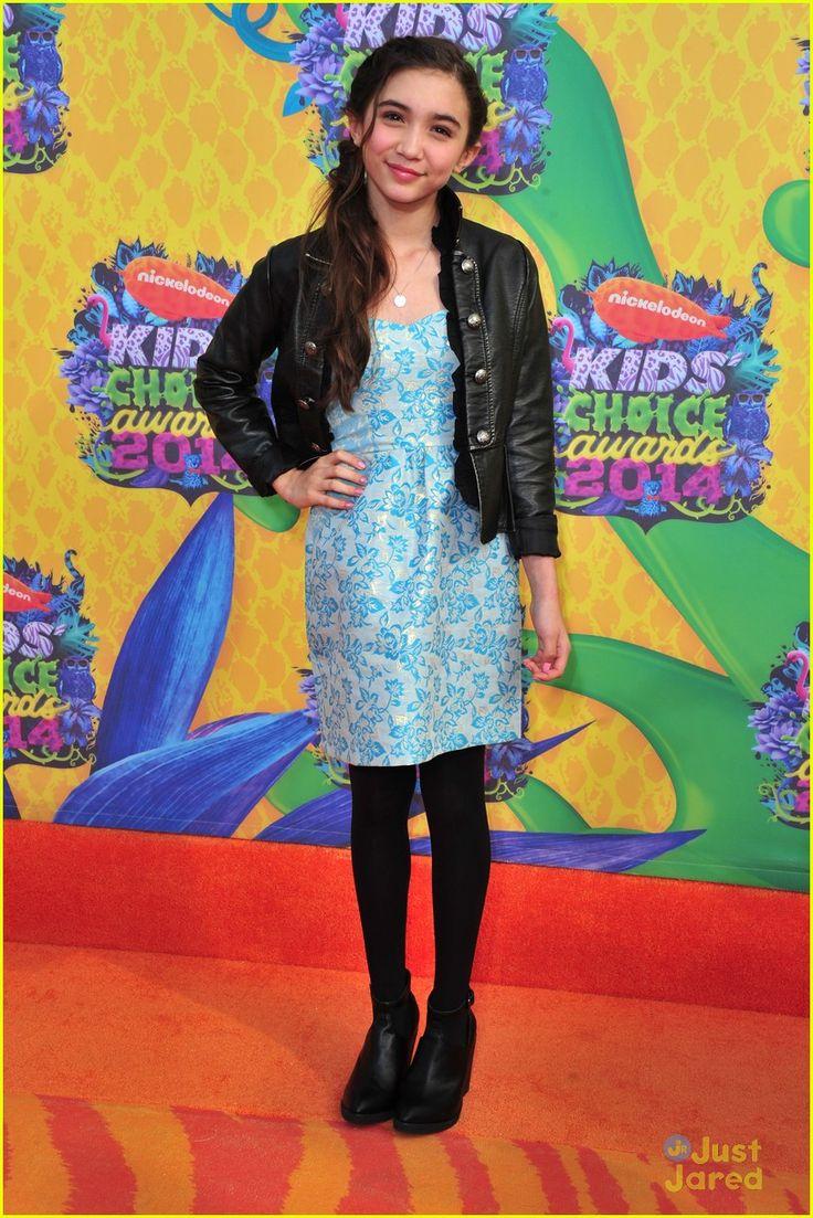 Rowan Blanchard - Kids Choice Awards 2014