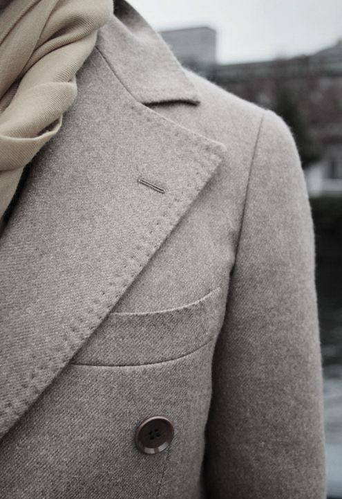 Grey may seem boring and dull, but actually it can be a stand out colour in the seas of black coats that over populate the late autumn and winter months.