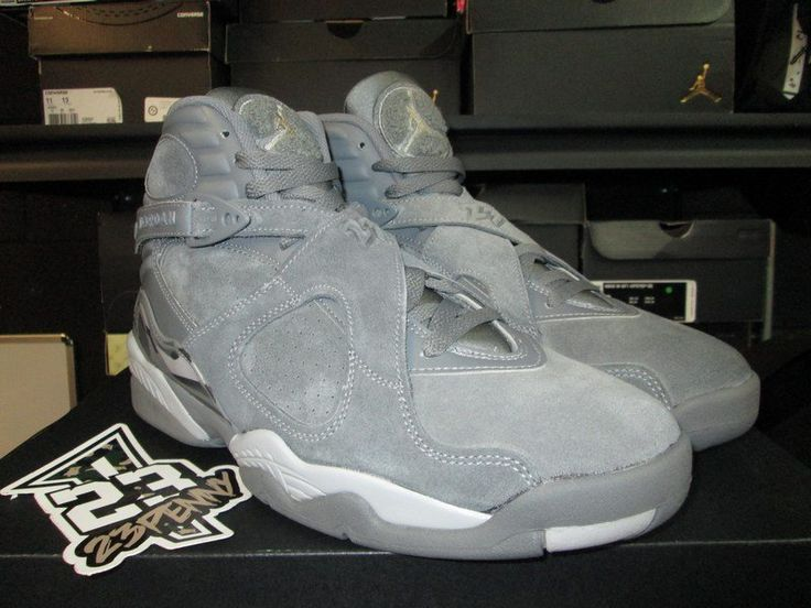 "23Penny Sneaker Shop | Air Jordan VIII (8) Retro ""Cool Grey"""