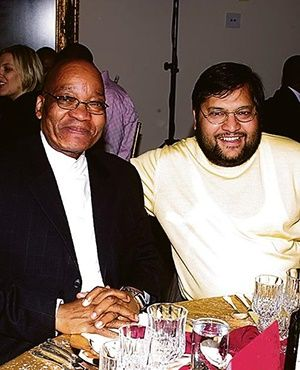 Exposed: Guptas prepared for Zuma to move his family to the United Arab Emirates.