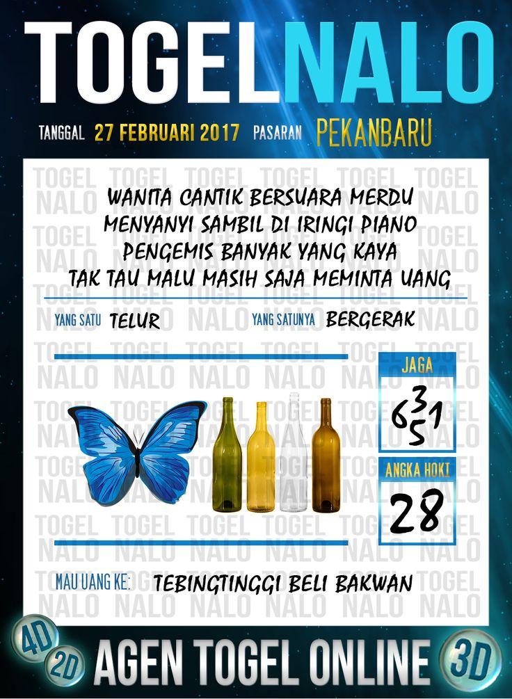 Lotre Taysen 4D Togel Wap Online Live Draw 4D TogelNalo Pekanbaru 27 Februari 2017