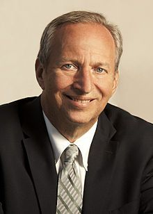Lawrence Summers -- former president of Harvard University and U.S. Secretary of the Treasury under Barack Obama