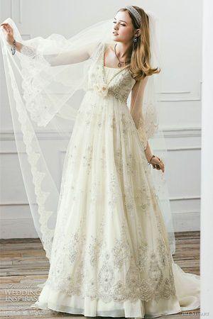 可憐で可愛い♡ヴィンテージロマンスなジルスチュアートの純白ウェディングドレスまとめ*にて紹介している画像