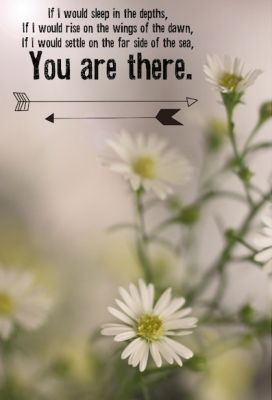 You are there
