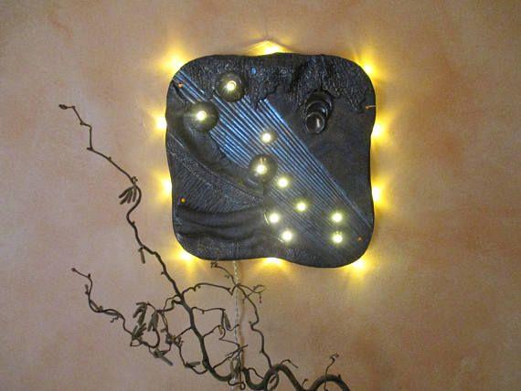 Keramikbild beleuchtet Tierkreiszeichen Stier Sternbild