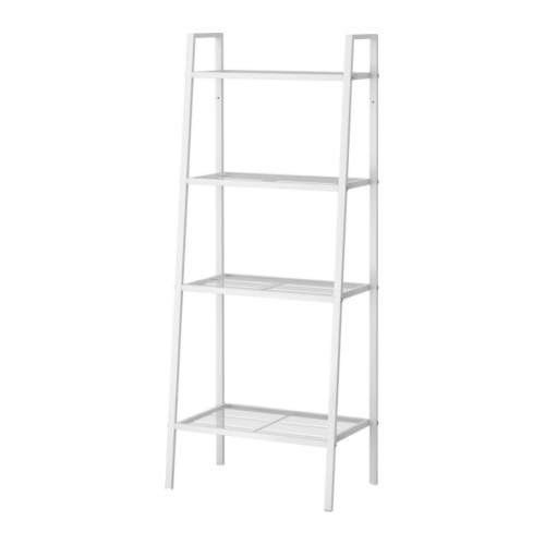 Ikea Lerberg Shelf Unit Bookcase White