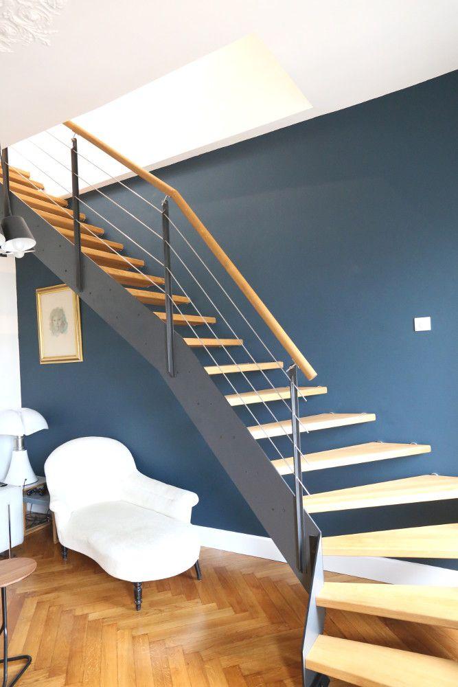 les 30 meilleures images du tableau ambiance loft et escaliers sur pinterest construction. Black Bedroom Furniture Sets. Home Design Ideas