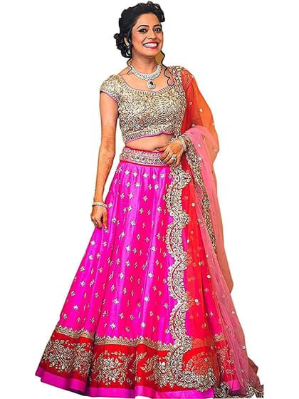 0225f65138 Designer Semi-stitched Lehenga Choli | Only on trendyecomshop.shopwithme.in  | Best lehenga choli Online
