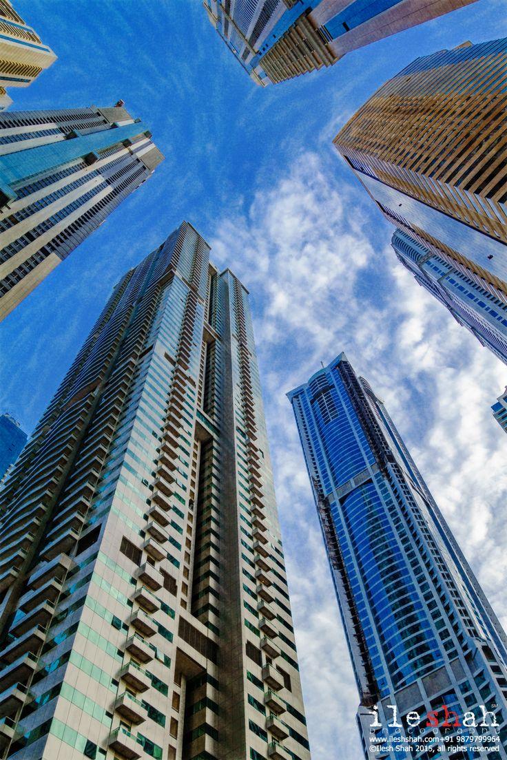 Dubai-Marina-Skyscraper - Dubai Marina Skyscraper.