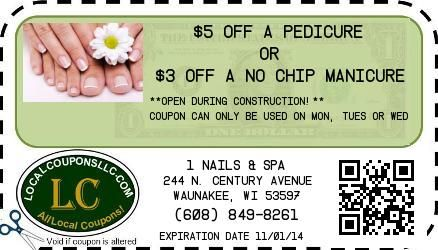 Nails Spa Waunakee Wi