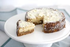 Sinner Sunday: Cheesecake met witte chocolade en kokos