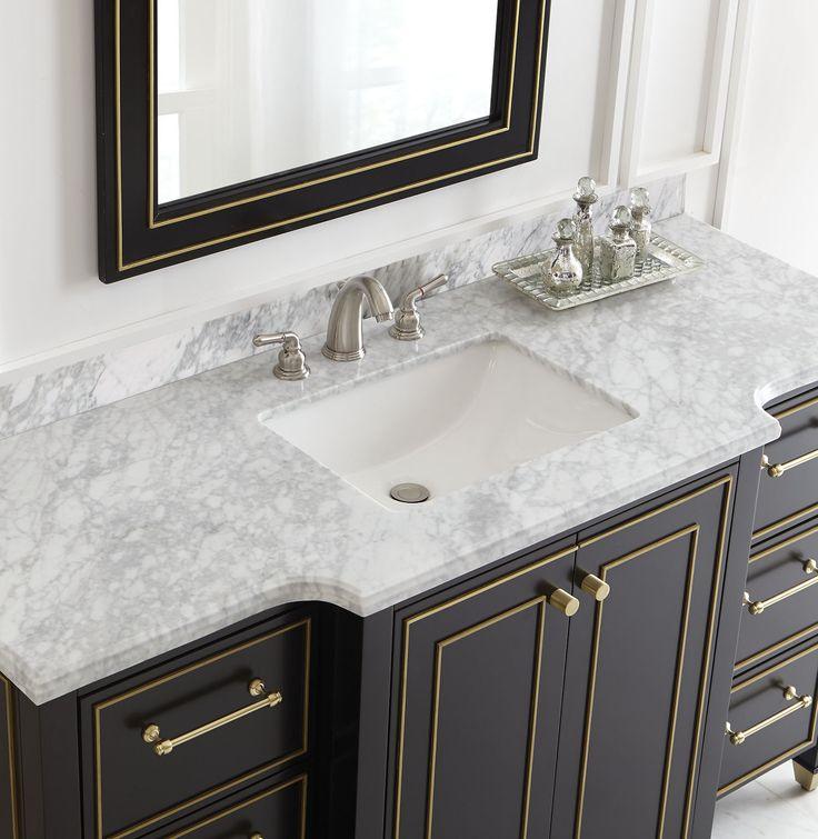 Black Vanity Bathroom Ideas 165 best bath images on pinterest | bathroom ideas, bath vanities