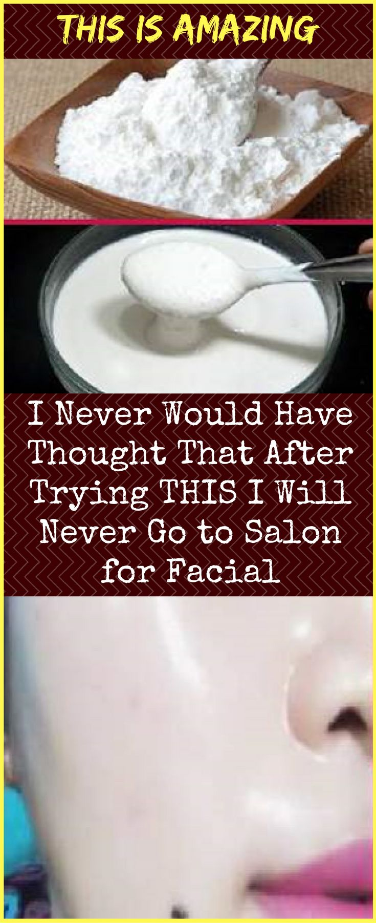 This is AMAZING: I Never Would Have Thought That After Trying THIS I Will Never Go to Salon for Facial