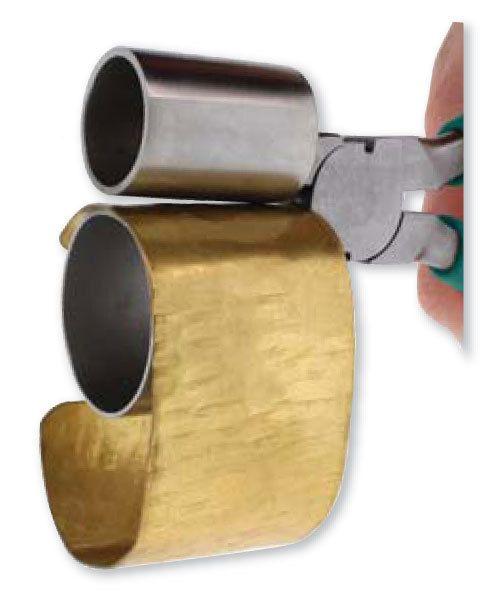 Double Cylinder Bracelet Bending Pliers 1 3/8 & by TDSONLINETOOLS