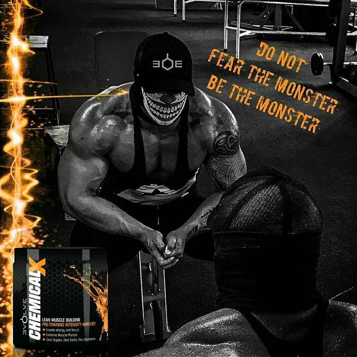 """BE THE MONSTER   Evolve Nutrition Chemical X   LEAN MUSCLE BUILDING PRE-TRAINING INTENSITY AMPLIFIER Insane Energy and Focus Extreme Muscle Pumps Zero Sugars Zero Carbs Zero Aspartame  http://ift.tt/2p7QOei   Reposting @evolvenutritionza:  ... """"Take your flex friday to a whole new level with the original No holds barred Chemical X. Packed with scientifically proven ingredients that will keep you mentally and physically in the game #evolvenutrition"""""""