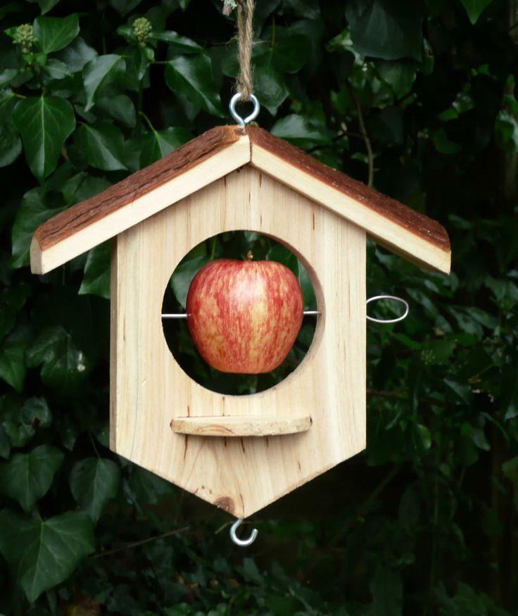 17 best images about bird feeders on pinterest bird for How to make a wooden bird feeder