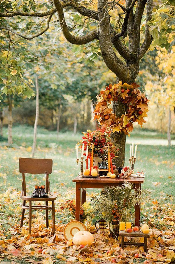 Gorgeous fall wedding inspiration