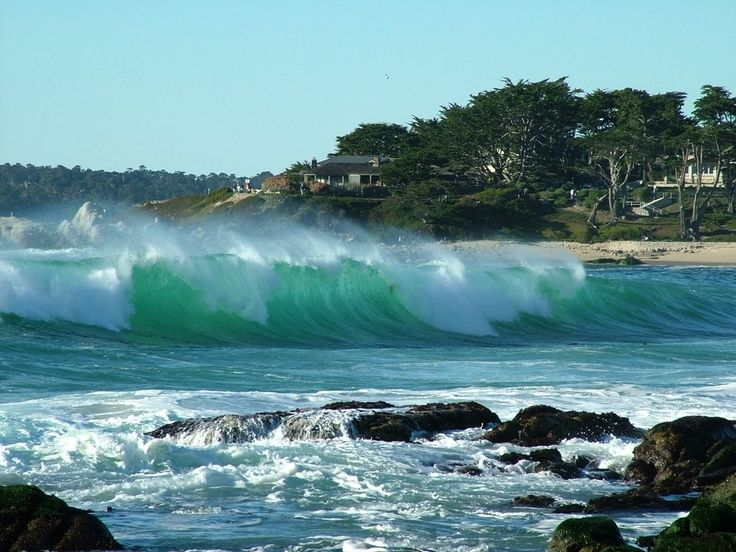 Carmel by the Sea on the Monterey Peninsula. The meeting of the ocean and the mountains. Perfect match!