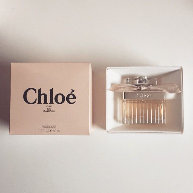 Chloe perfume and packaging. Photo by theramblinglass