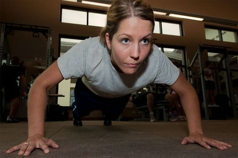 First of all, there is no reason why women cannot do the regular push-up. All it takes is practice.