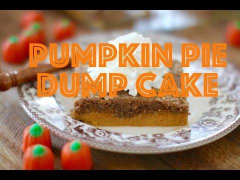Pumpkin Pie Dump Cake - The Country Cook