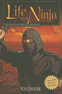 """""""Describes the lives of ninjas in feudal Japan. The reader's choices reveal historical details from the perspectives of a ninja taking part in the siege of Sawayama Castle, fighting the army of Oda Nobunaga, and serving as a member of the Band of Iga."""
