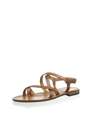 58% OFF Modern Fiction Women's Toe Ring Sandal (Cognac)
