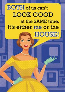 Cleaning the house. #funny #retro
