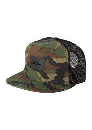 Ten Trucker Hat in Woodland Camo