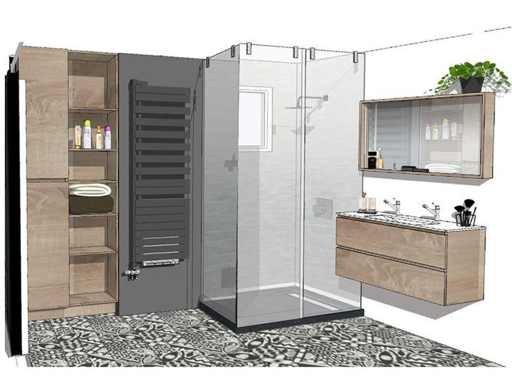 Best 20 les salles de bain ideas on pinterest for Du cote de chez vous salle de bain