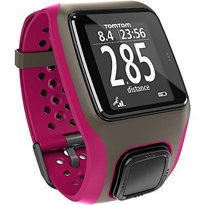 TomTom Multi-Sport GPS Sports Watch with for Running, Cycling and Swimming, Grey