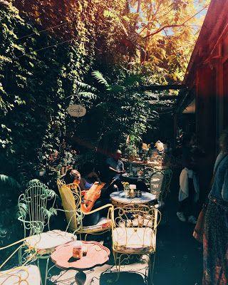 El patio, Palermo, Buenos Aires.